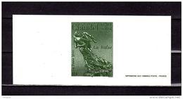 """2000 : Gravure Officielle Du N° YT 3309 """" LA VALSE De CAMILLE CLAUDEL """" - Postdokumente"""