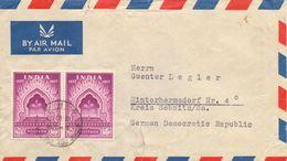 Indien Brief Gest. - Ansehen!! - 1950-59 Republic