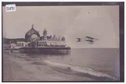 AVIATION - AVION EN PLEIN VOL AU MEETING DE NICE EN 1910 - TB - Meetings
