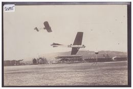 AVIATION - AVION EN PLEIN VOL AU MEETING DE NICE EN 1910 - TB - Demonstraties