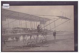 AVIATION - AVION - LE PILOTE EFIMOFF SUR FARMAN - MEETING D'AVIATION DE NICE EN 1910 - TB - Aviateurs