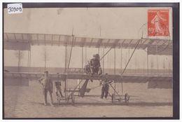 AVIATION - AVION - PILOTE AU COMMANDE - MEETING D'AVIATION DE NICE EN 1910 - TB - Aviateurs