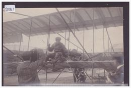 AVIATION - AVION - PILOTE AU COMMANDE - MEETING D'AVIATION DE NICE EN 1910 - TB - Piloten