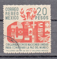 Mexico 1946 Mi Nr  909, 20 Pesos, Verenigde Naties - Mexico