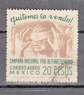 Mexico 1945 Mi Nr 897, 20 Pesos,  Verwijdering Van Een Blinddoek - Mexico