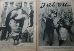 J'AI VU 1916N°81:MGR AMETTE ARCHEVEQUE PARIS/MORT AVIATEUR BOILLOT-GENERAL GALLIENI/NIJINSKY/CAMP PRISONNIERS DE CASSEL - Guerre 1914-18