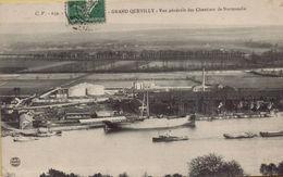 GRAND QUEVILLY : Vue Générale Des Chantiers De Normandie - Francia