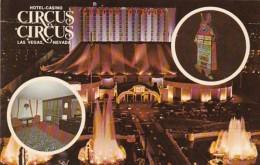 Nevada Las Vegas Circus Circus Hotel Casino At Night