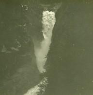 Suisse Route Du Grimsel Cascade De La Handeck Ancienne Photo Stereo Amateur Possemiers 1910 - Stereoscopic