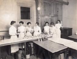USA Jeunes Femmes Cours De Parfaite Menagere Lot De 5 Anciennes Photo 1910's - Professions