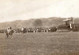Courses De Chevaux Grand Steeple-chase D'Auteuil Ancienne Photo 1908 - Sports
