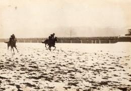 Courses De Chevaux Steeple-chase Militaire Prix De Tananarive Auteuil Ancienne Photo 1908 - Sports