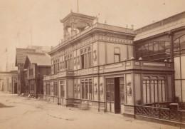 France Paris Exposition Universelle Etats-Unis Rue Des Nations Ancienne Photo Pierre Petit 1878 - Old (before 1900)