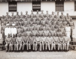 Massachusetts Garde Nationale Camp Edwards Artillerie Ancienne Photo Waid & Slater 1948 - War, Military