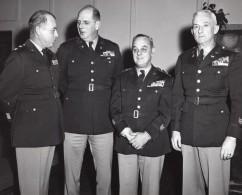 Fort Devens Massachusetts National Guard Reception William H Harrison Ed Sirois Ancienne Photo 1955 - War, Military