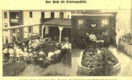 Das Dach Als Erholungsstätte/ Druck, Entnommen Aus Zeitschrift / 1928 - Livres, BD, Revues