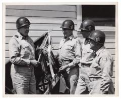 General Edward Devlin Sirois Massachusetts National Guard Lot De Photos Anciennes Annees 40 Et 50 - War, Military