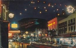 LLANDUDNO - MOSTYN STREET @ GREAT ORME BY NIGHT - Caernarvonshire