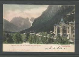 Old Cp.  Landro Hotel Bauer  Ampezzothal. 1903 - Unclassified