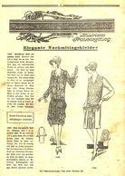 Elegante Nachmittagskleider/ Artikel, Entnommen Aus Zeitschrift / 1928 - Livres, BD, Revues