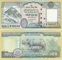 Nepal - 100 Rupees 2015 ( 2016 ) AUNC Lemberg-Zp - Nepal
