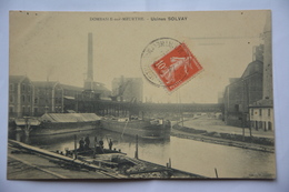 DOMBASLE-sur-MEURTHE-usines Solvay - France