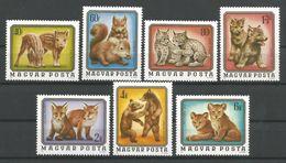 TP DE HONGRIE  N°  2480/86  NEUFS SANS CHARNIRE. - Hongrie
