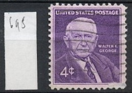 Etats Unis - USA 1960 Y&T N°695 O - 4c W F George - Oblitérés