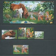 Australia 1996 Pets Set Of 6 & Miniature Sheet MNH - 1990-99 Elizabeth II