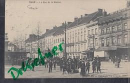 Gent, Gand, Bahnhofstraße, Rue De La Station, Um 1905 - Gent