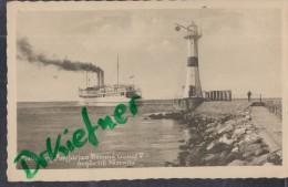 """Fähre """"KONUNG GUSTAF V."""" Bei Der Ausfahrt Von Trelleborg, Schweden, Nach Sassnitz, Um 1930 - Ferries"""