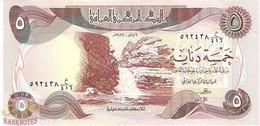IRAQ 5 DINARS 1982 PICK 70a UNC - Iraq