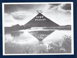 54. Longwy. Crassier. S.O.S.- CFDT Emploi ( Lettres SOS Installées Le 20 Et 21 Décembre 1978 Par La CFDT) - Longwy