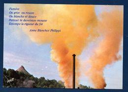 54. Longwy. Crassier. Les Fumées Du Pays-Haut. Texte De Anne Blanchot Philippi.1987 - Longwy
