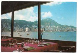 HONG KONG - THE HONGKONG HOTEL OVERLOOKING THE WORLD'S MOST MAGNIFICIENT HARBOUR - Cina (Hong Kong)