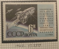 B7 Russia CCCP 1962 Yv. 2515 MNH Stamp - Start Of Kosmos-3, Space Exploration - 1923-1991 USSR