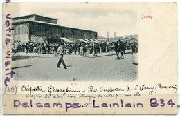 - JASSY -  Roumania, Roumanie, Hala, Animation, Précurseur, écrite, 1900, TBE, Scans. - Romania