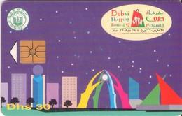 TARJETA TELEFONICA DE EMIRATOS ARABES UNIDOS. CHIP. (082). - Emiratos Arábes Unidos