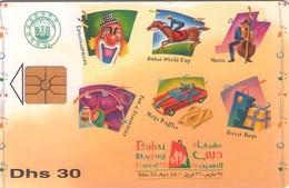 TARJETA TELEFONICA DE EMIRATOS ARABES UNIDOS. CHIP. (085). - Emiratos Arábes Unidos