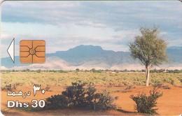 TARJETA TELEFONICA DE EMIRATOS ARABES UNIDOS. CHIP. (086). - Emiratos Arábes Unidos