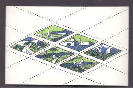MONACO -- MONTE CARLO --  Feuillet De 6 Vignettes Pour Plaques De Casino - Casino