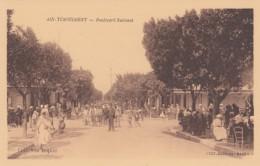 Ain Tremouchent Algeria, Aïn Témouchent, Boulevard National, Street Scene C1920s Vintage Postcard - Algeria