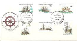 Australian Antarctic Territory 1981 Ships FDC $ 1.50 - FDC