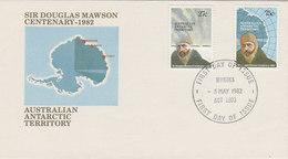Australian Antarctic Territory 1982 Mawson FDC - FDC