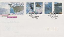 Australian Antarctic Territory 1996 Extreme Landforms   FDC - FDC