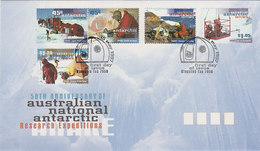 Australian Antarctic Territory 1997 Research Expedition FDC - FDC