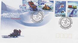 Australian Antarctic Territory 1998 Transport  FDC - FDC