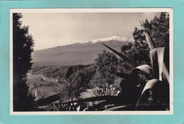 Small Antique Postcard Of Granada Taormina, Sicily, Italy.Q68. - Autres Villes