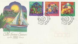 Cocos Islands 1996 Festive Season FDC - Cocos (Keeling) Islands