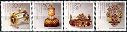 BRD - Michel 1383 / 1386 - ** Postfrisch (B) - Gold- Und Silberschmiedekunst, Wohlfahrt 88 - [7] Repubblica Federale